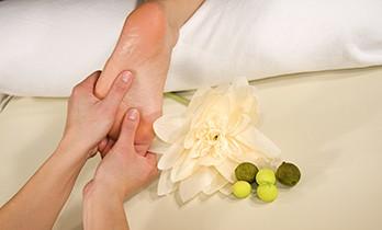 wellness composition - foot reflex zone massage